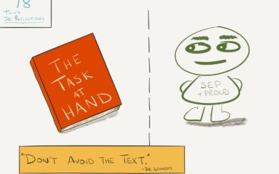 078: Don't Avoid the Text